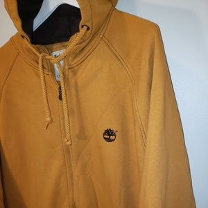 Timberland Shirts - 🌳Timberland Embroidered Zip Up Hoodie Jacket-Rare